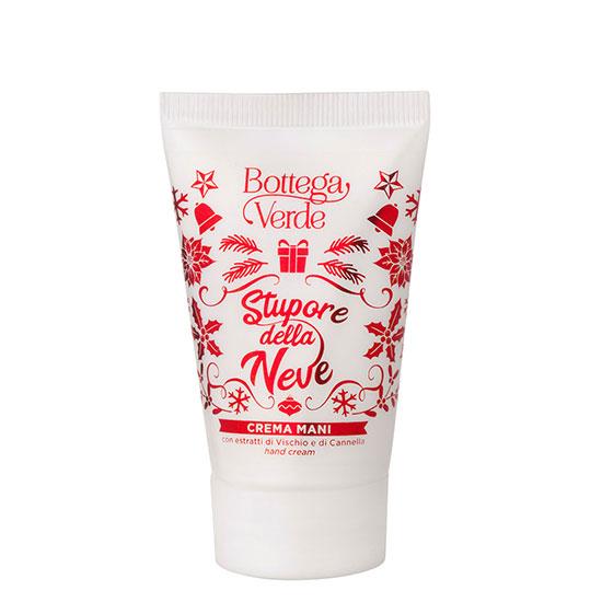 Crema de maini cu extract de scortisoara si vasc, editie limitata - Stupore della Neve, 30 ML