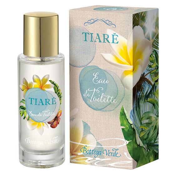 Apa de toaleta cu aroma de monoi - Tiarè, 30 ML
