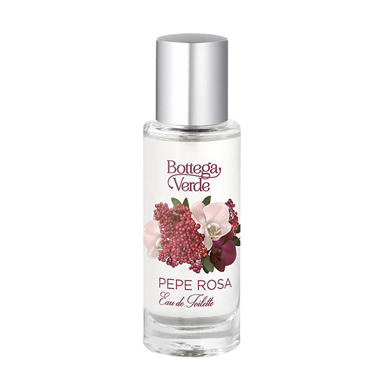 Apa de toaleta cu extract de piper roz - Pepe Rosa, 30 ML