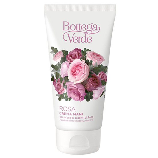 Crema de maini cu aroma de trandafiri - Rosa, 75 ML