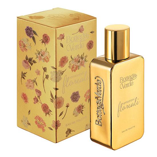 Apa de toaleta cu aroma de flori - Emozioni Floreali, 50 ML