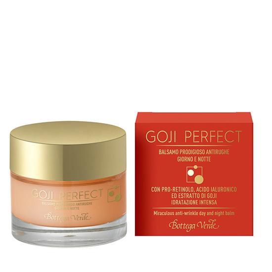 Balsam antirid de zi si de noapte cu pro-retinol, acid hialuronic si extract de goji - Goji Perfect  (30 ML)