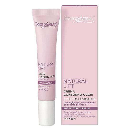 Crema pentru zona din jurul ochilor cu Argirelineî, Pluridefence® si extract de afine - Natural Lift, 15 ML