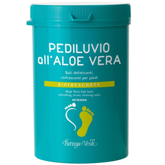 Picioare sanatoase - Bai de picioare cu Aloe Vera - saruri anti-oboseala, revigorante pentru picioare - racoritoare