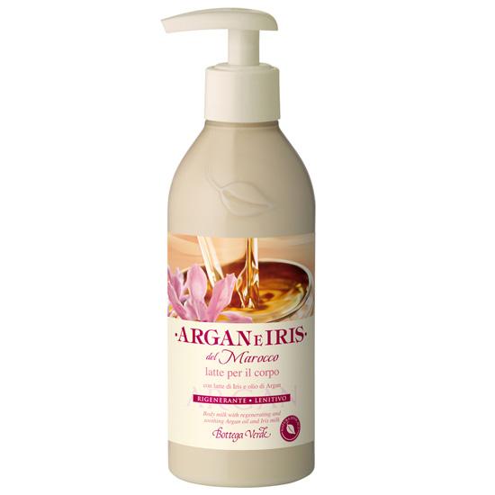 Lapte de corp cu ulei de argan si lapte de Iris - Argan e Iris  (250 ML)