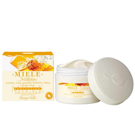 Miere - Crema de fata pentru zi, efect de matase, cu tei si miere  (50 ML)