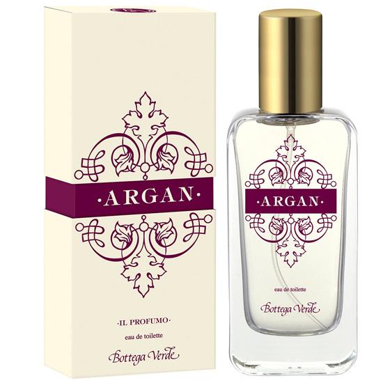 Parfum cu aroma de argan