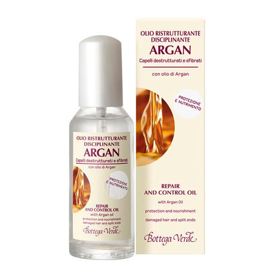 Argan de Maroc - Ulei de argan restructurant cu efect de stralucire, ingrijire si protectie pentru parul deteriorat si fragil