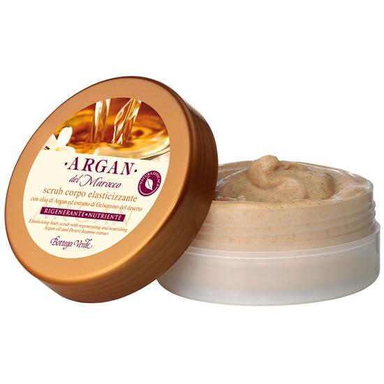 Argan de Maroc - Scrub de corp pentru fermitate cu extract de iasomie din desert si ulei de argan regenerator si hranitor