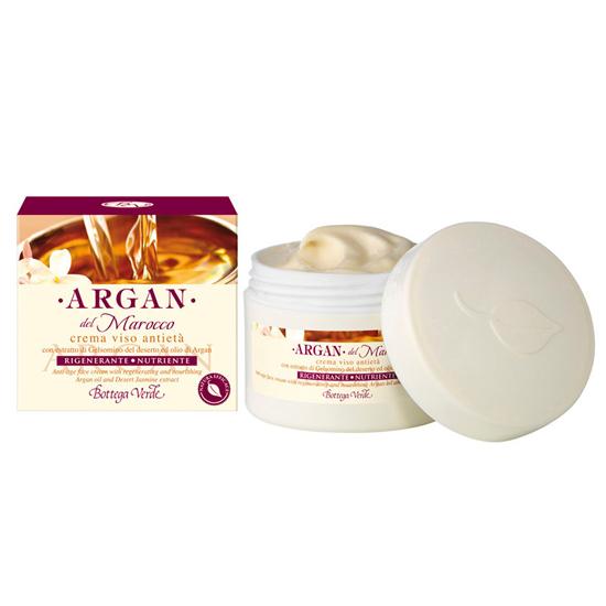 Argan de Maroc - Crema de fata cu extract de iasomie din desert si ulei de argan regenerator si hranitor