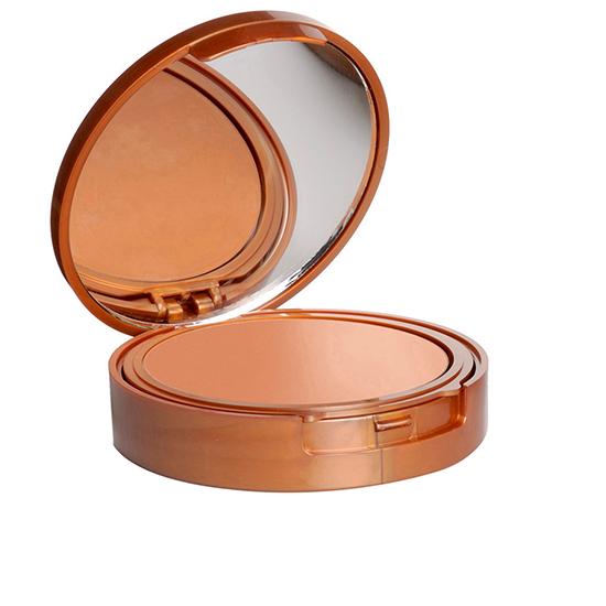 Protectie solara - Fond de ten compact cu vitamina E si ulei din orez brun, SFP 15, rezistent la apa   - intens