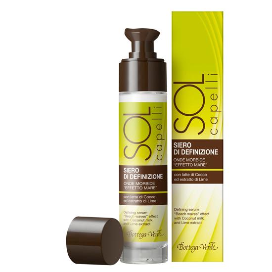 Protectie solara - Ser pentru definirea parului, cu lapte de cocos si extract de lime