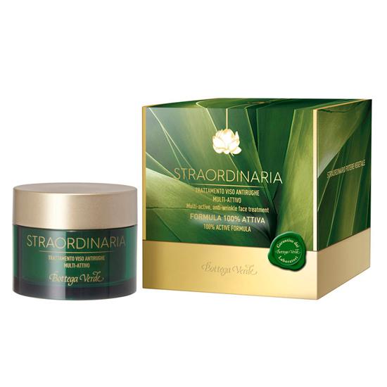Straordinaria - Tratament pentru fata, antirid si hidratant, cu MAXnolia, complex de 2 uleiuri, AQUAPHYLINE® si acid hialuronic - formula 100% activa