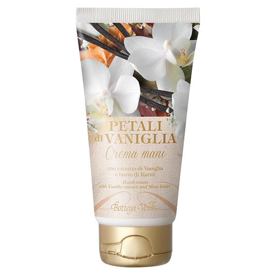 Petale de vanilie - Crema pentru maini cu extract de vanilie si unt de shea