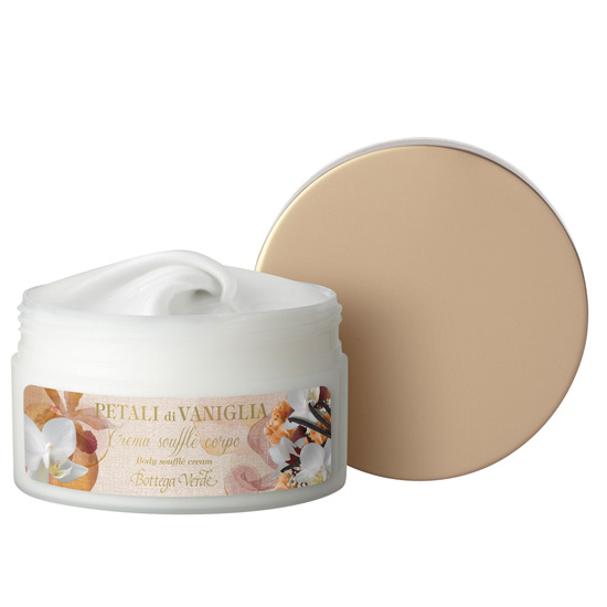 Crema de corp fina cu extract de vanilie