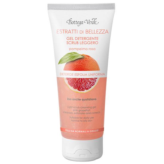 Extracte de frumusete - Gel de curatare, exfoliere delicata - grapefruit roz - ten normal si gras