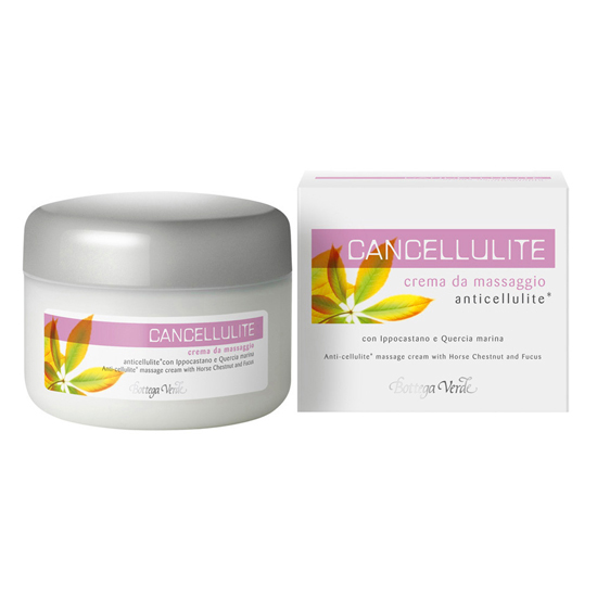 Cancellulite - Crema pentru masaj anti-celulita cu castan de munte si stejar
