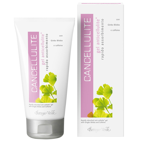 Cancellulite - Gel anti-celulita cu absorbtie rapida si extract de Ginkgo biloba si cofeina